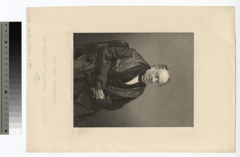 Portrait of James Gascoyne-Cecil, 2nd Marquess of Salisbury