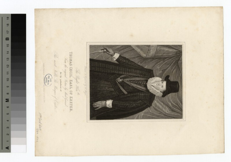 Portrait of Thomas Cecil, 1st Earl of Exeter