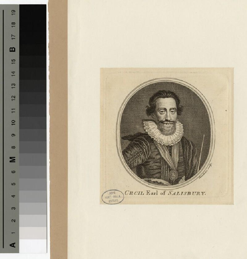 Portrait of 1st Earl Salisbury
