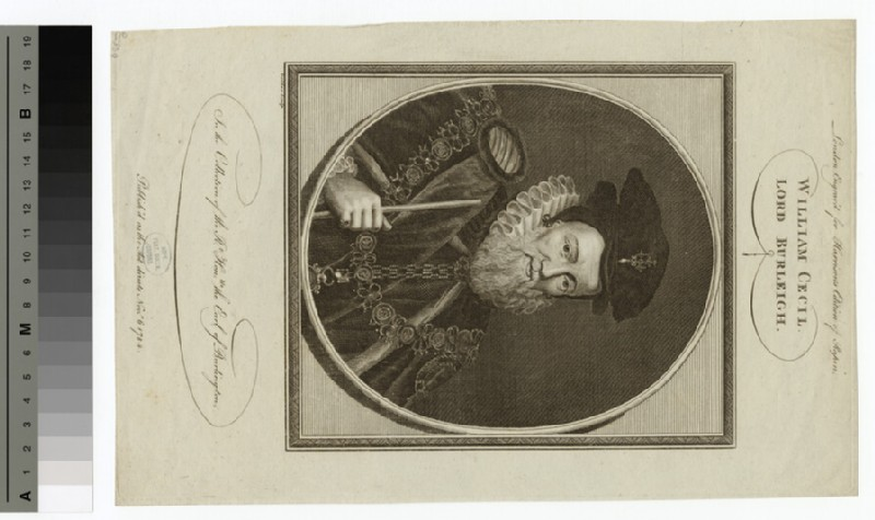 Portrait of Lord Burleigh (WAHP15224)