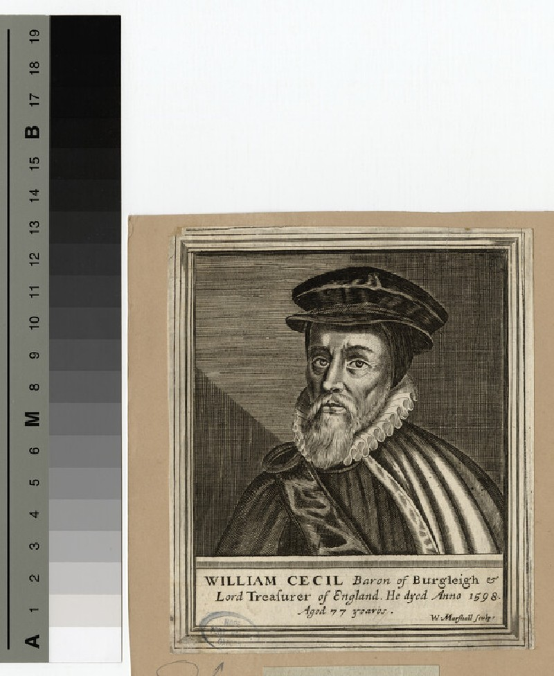 Portrait of Burleigh (WAHP15232)