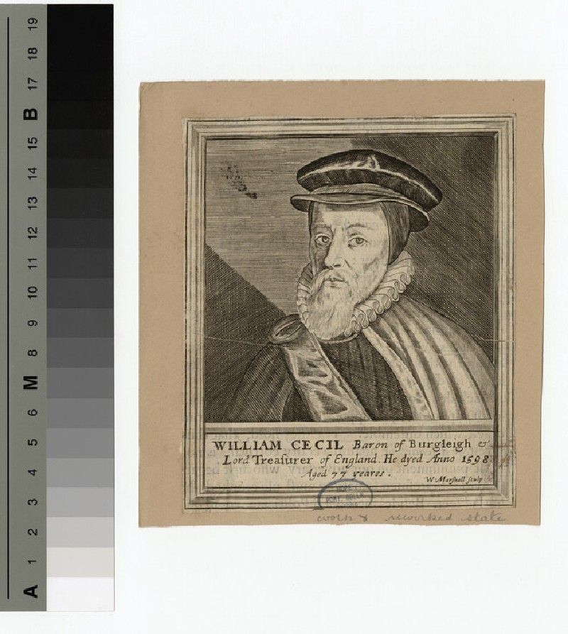 Portrait of Burleigh (WAHP15235)
