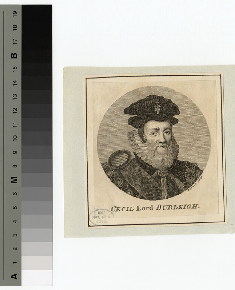 Portrait of Burghleigh (WAHP15239)