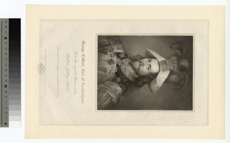 Portrait of George Clifford, Earl of Cumberland