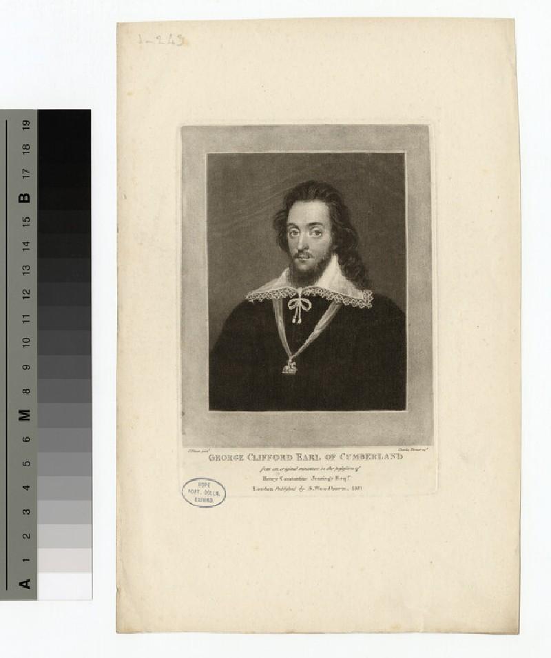 Portrait of Earl Cumberland