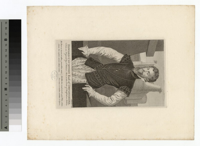 Portrait of Earl Devonshire (WAHP15330)