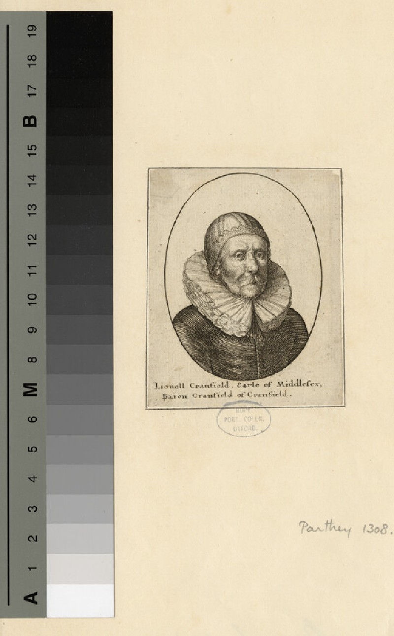 Portrait of Earl of Middlesex (Cranfield)