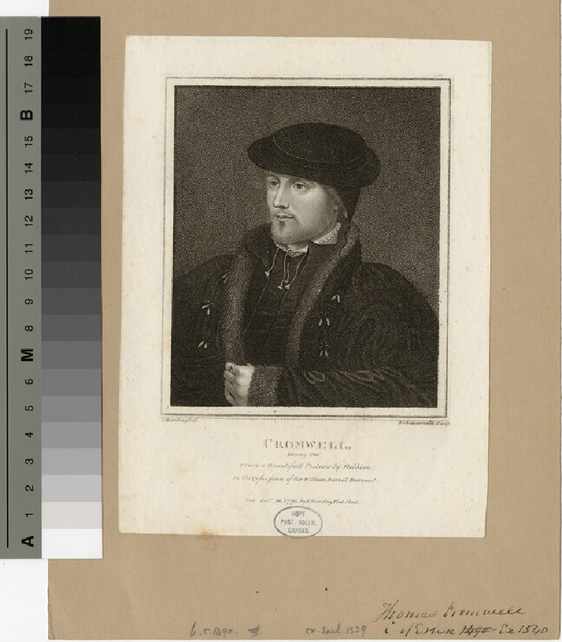 Portrait of Thomas Cromwell (WAHP15394)