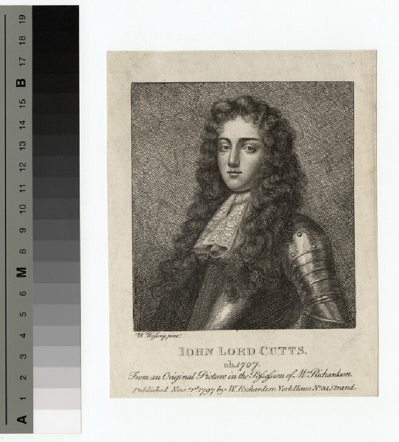 Portrait of Lord Cutts (WAHP15404)