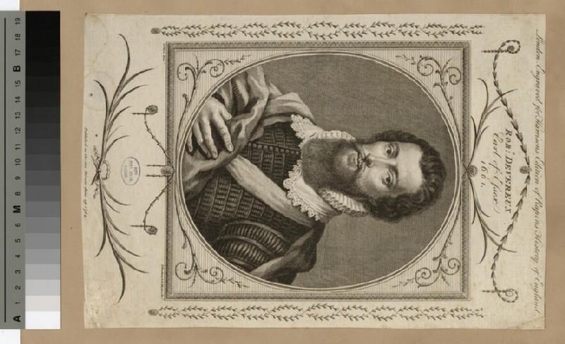 Portrait of Earl of Essex
