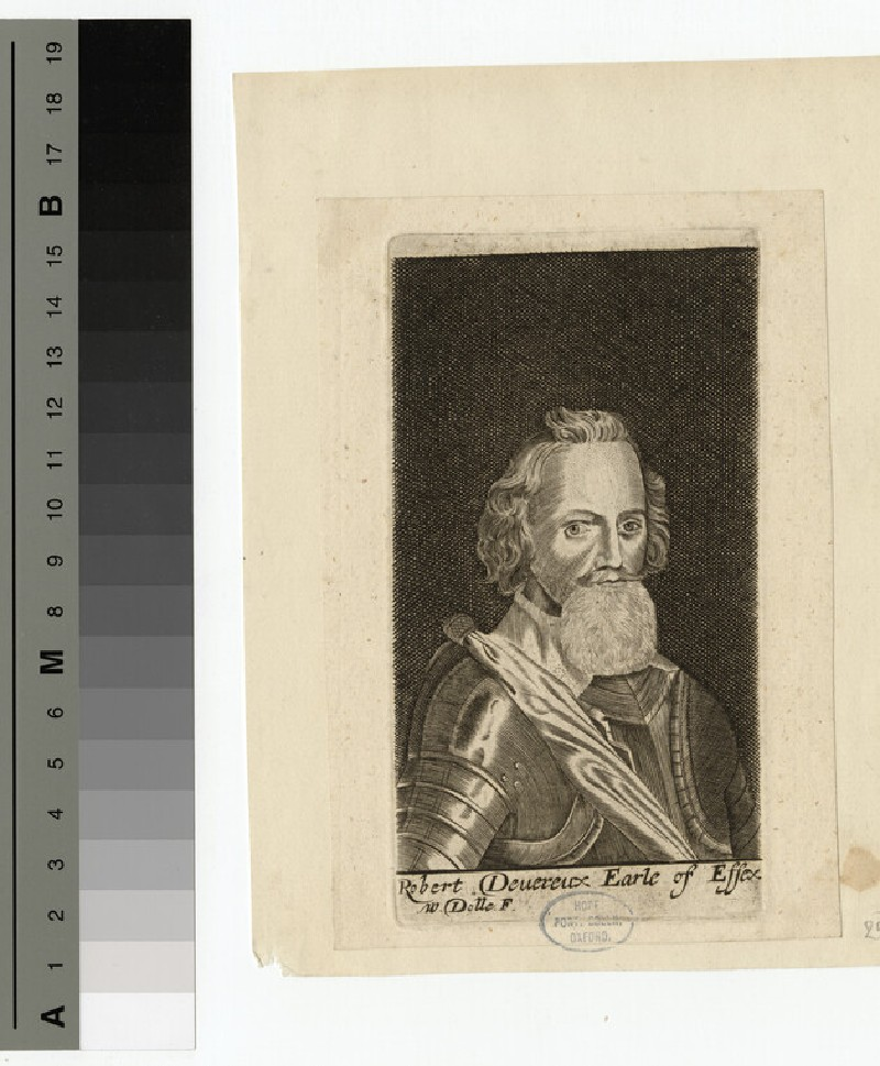 Portrait of Earl Essex (WAHP15445)