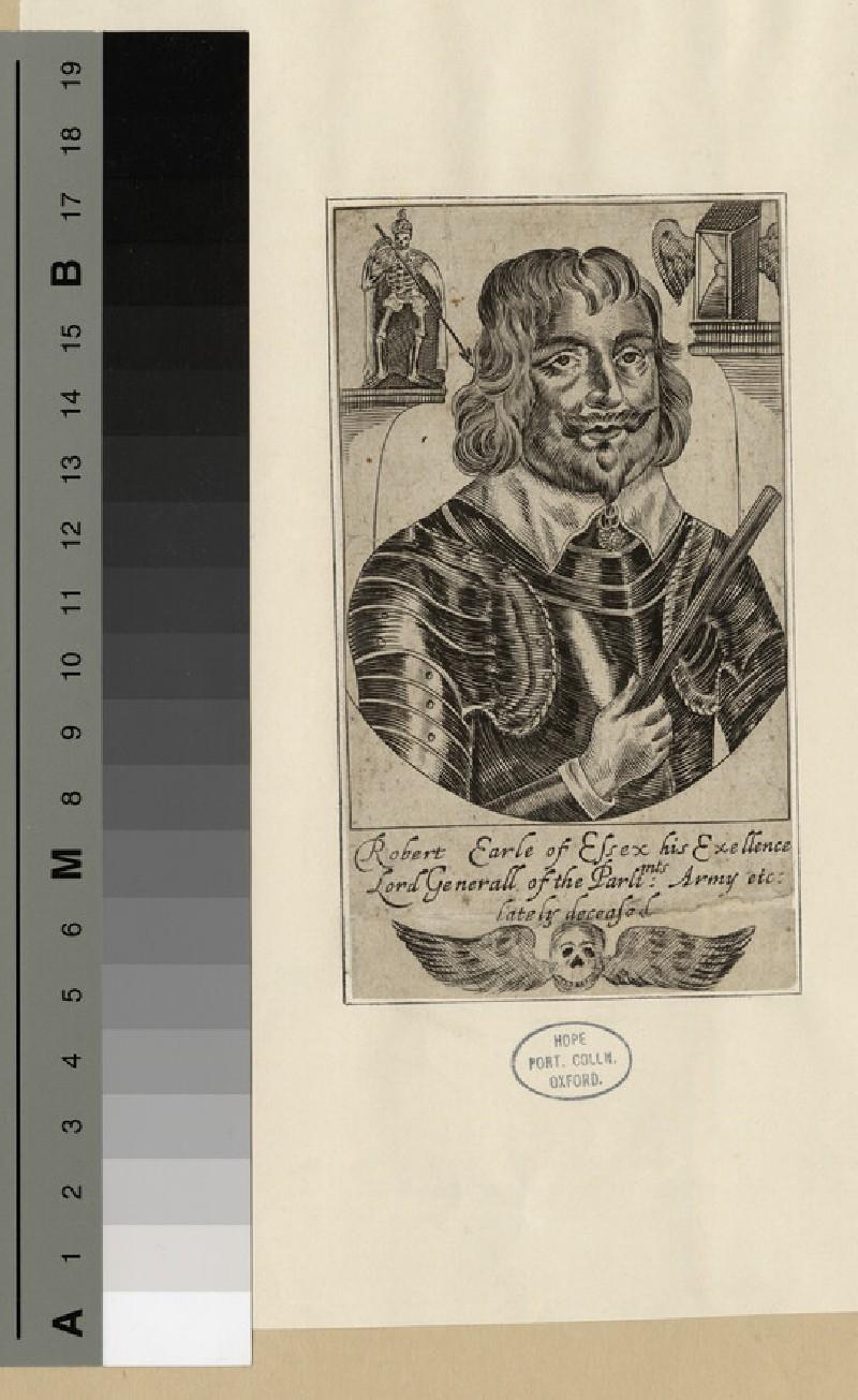 Portrait of Robert Devereux, 3rd Earl of Essex