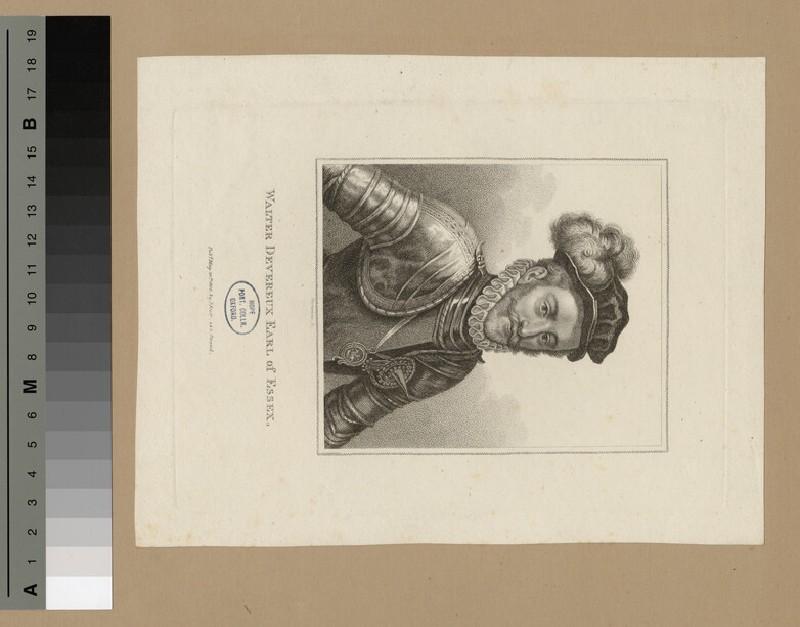 Portrait of Walter Devereux, 1st Earl of Essex (WAHP15479)