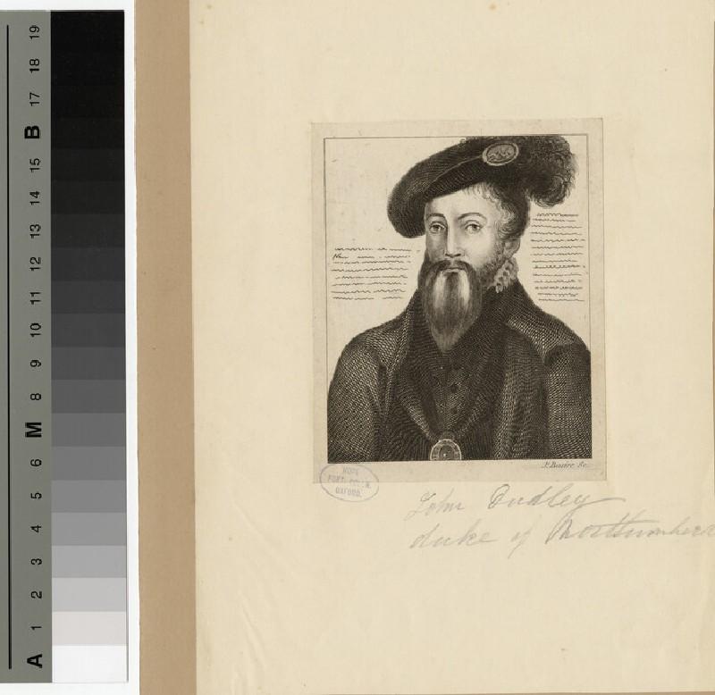Portrait of Dudley, Duke of Northumberland