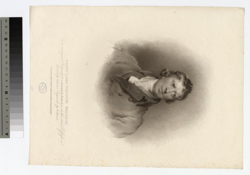 Portrait of VisCount Melville
