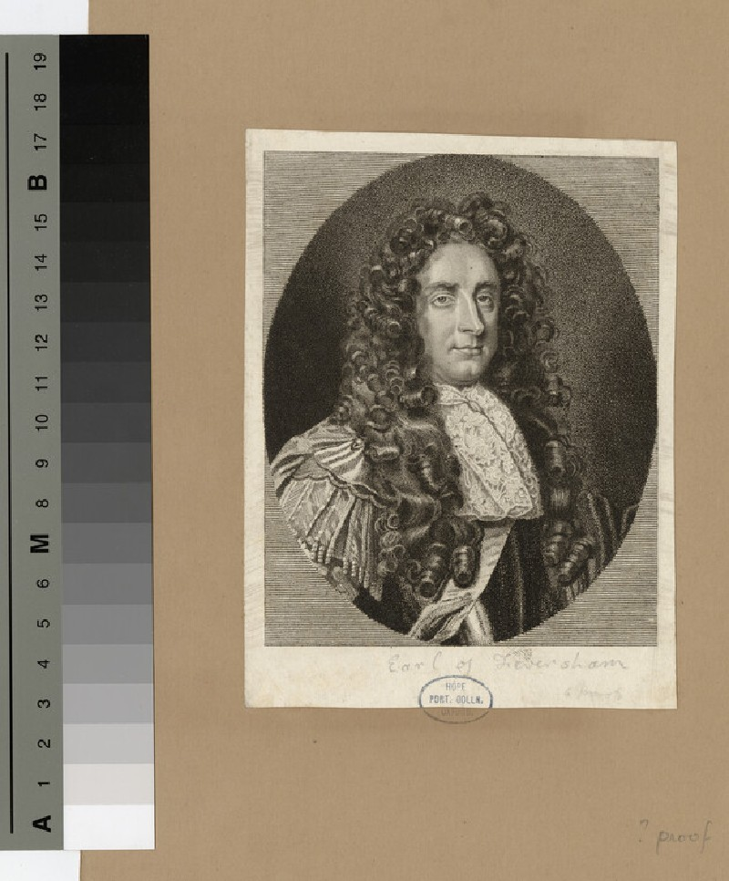 Portrait of Earl Feversham