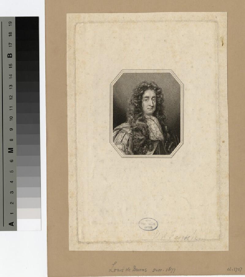Portrait of Louis Duras, 2nd Earl of Feversham