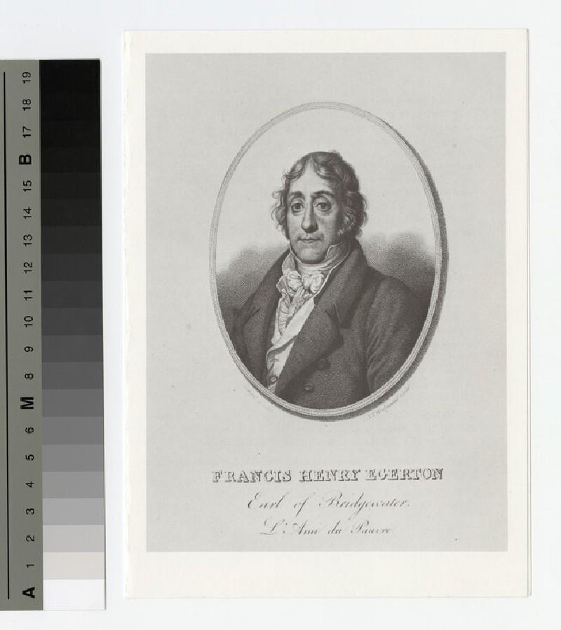 Portrait of Earl Bridgewater