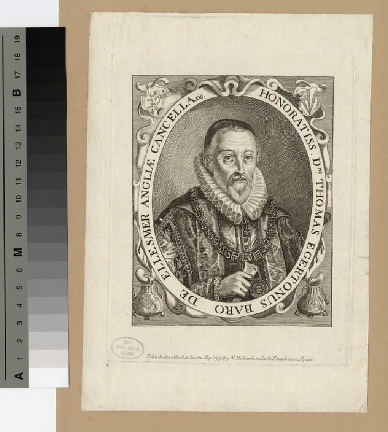 Portrait of Baron Ellesmere (WAHP15632)