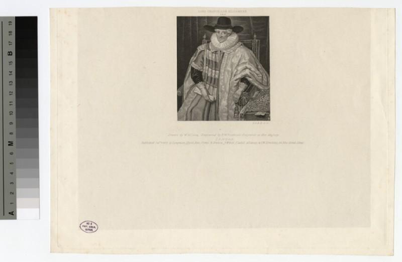 Portrait of Baron Ellesmere
