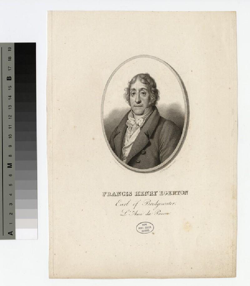 Portrait of Earl Bridgwater