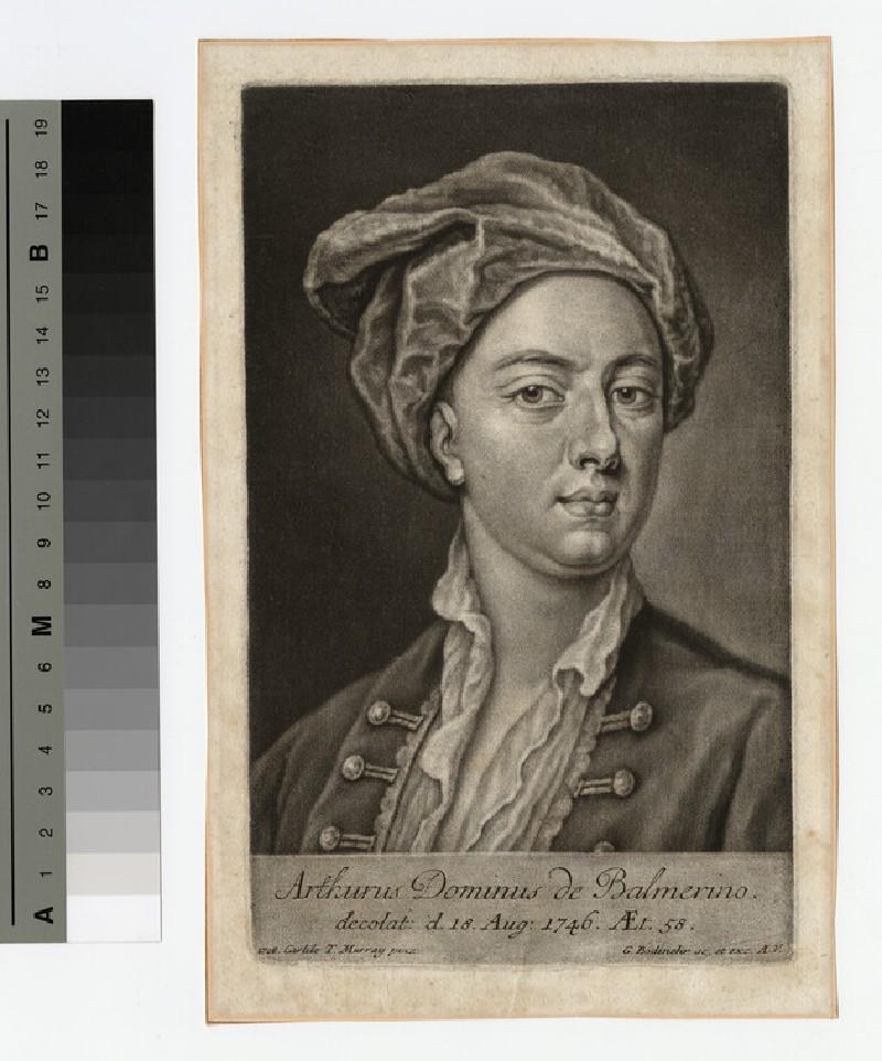Portrait of Lord Balmerino
