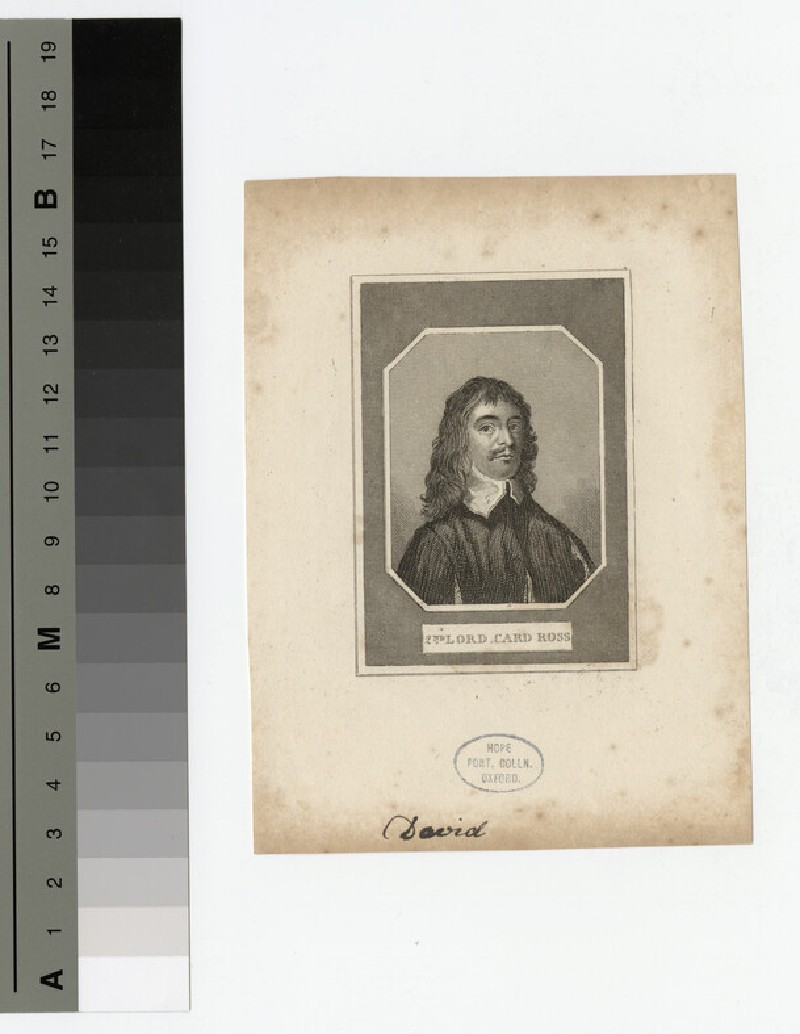 Portrait of Lord Cardross