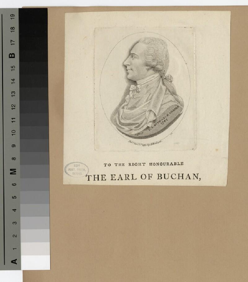 Portrait of Earl Buchan