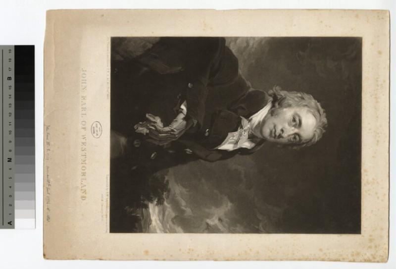 Portrait of John Fane, 10th Earl of Westmorland (WAHP15662)