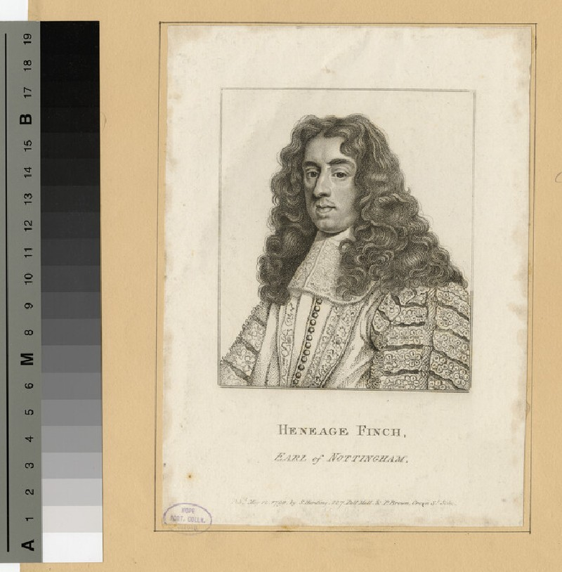 Portrait of Daniel Finch, 2nd Earl of Nottingham