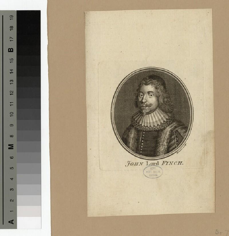 Portrait of Lord Finch
