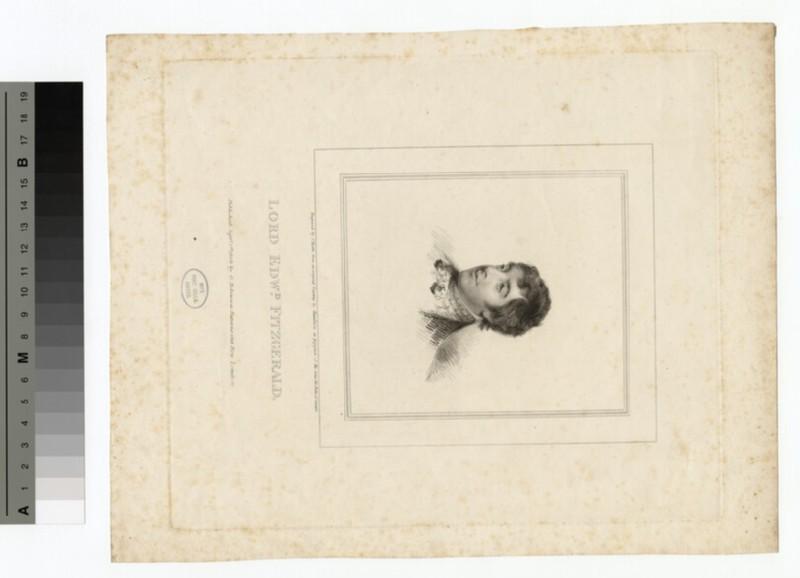Portrait of E. Fitzgerald