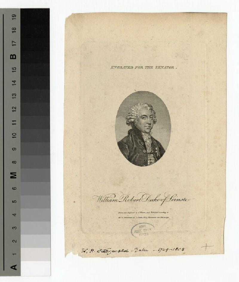 Portrait of Duke Leinster