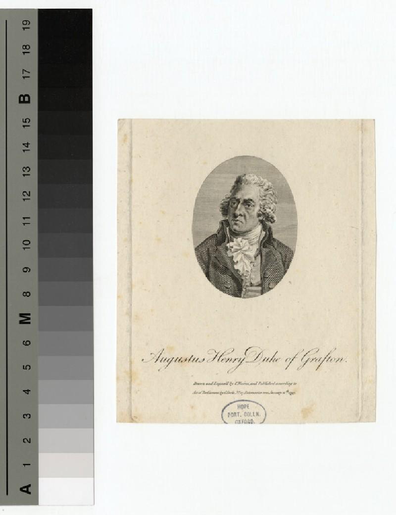 Portrait of Duke of Grafton