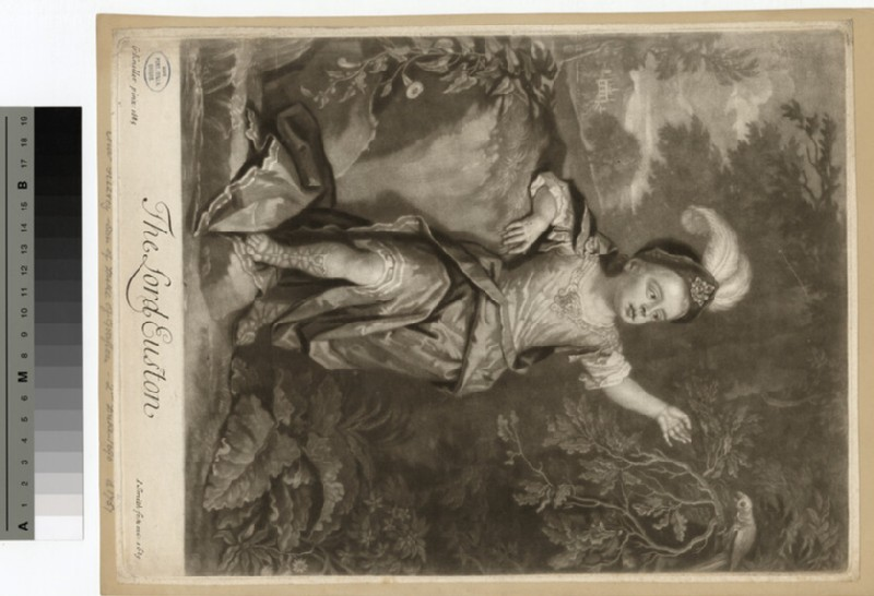 Portrait of Lord Euston