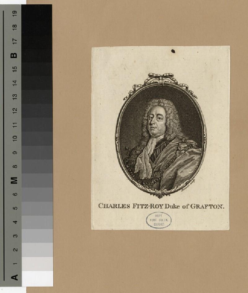 Portrait of Charles FitzRoy, 2nd Duke of Grafton