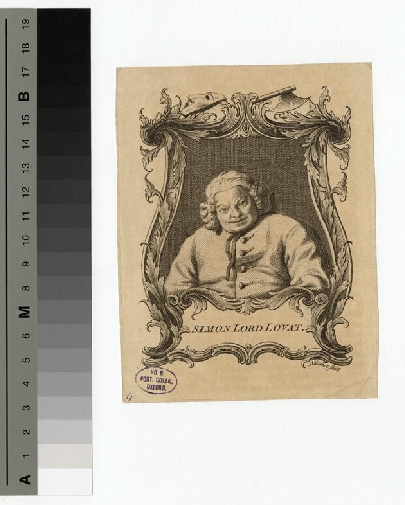 Portrait of Lovat (WAHP15791)