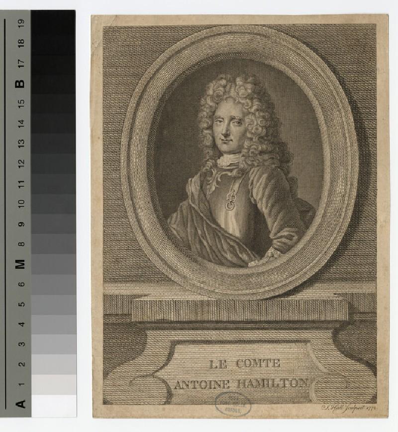 Portrait of Antoine Hamilton
