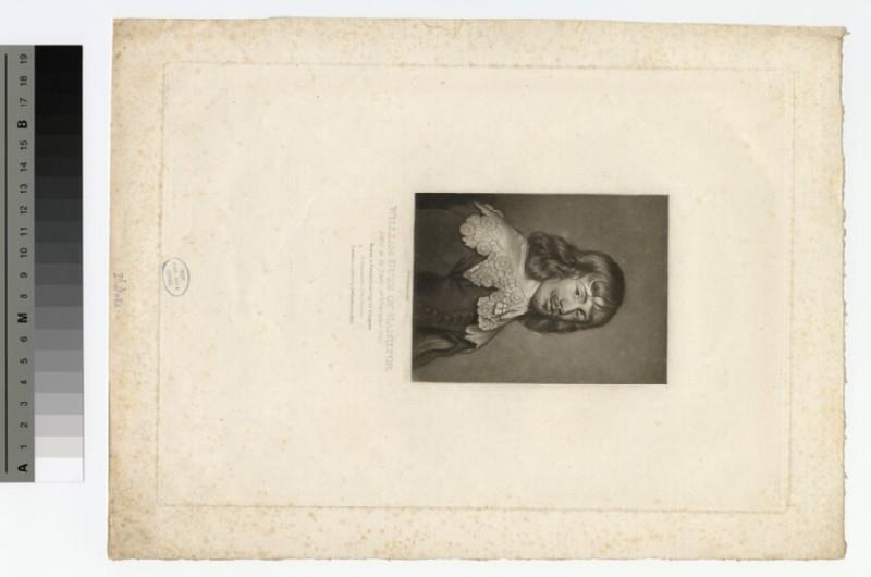 Portrait of William Hamilton, 2nd Duke of Hamilton (WAHP15856)