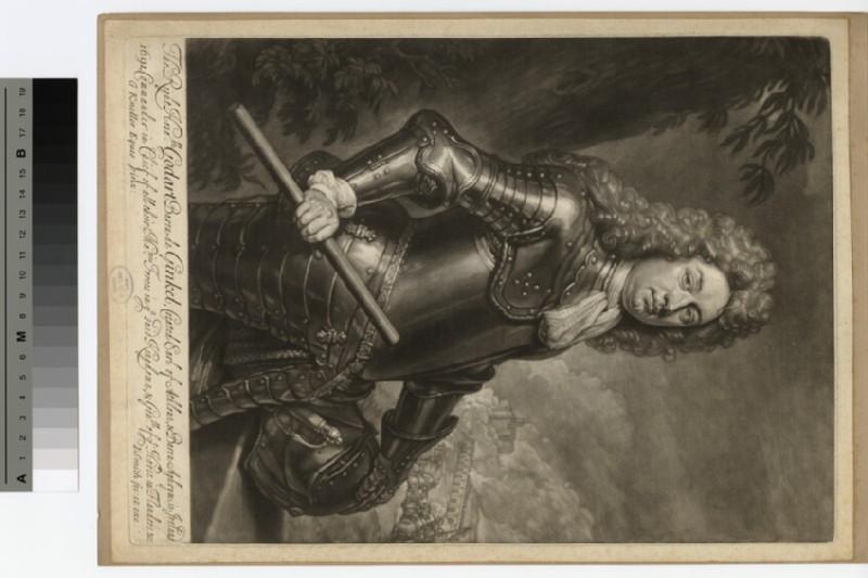 Portrait of Baron Ginkel