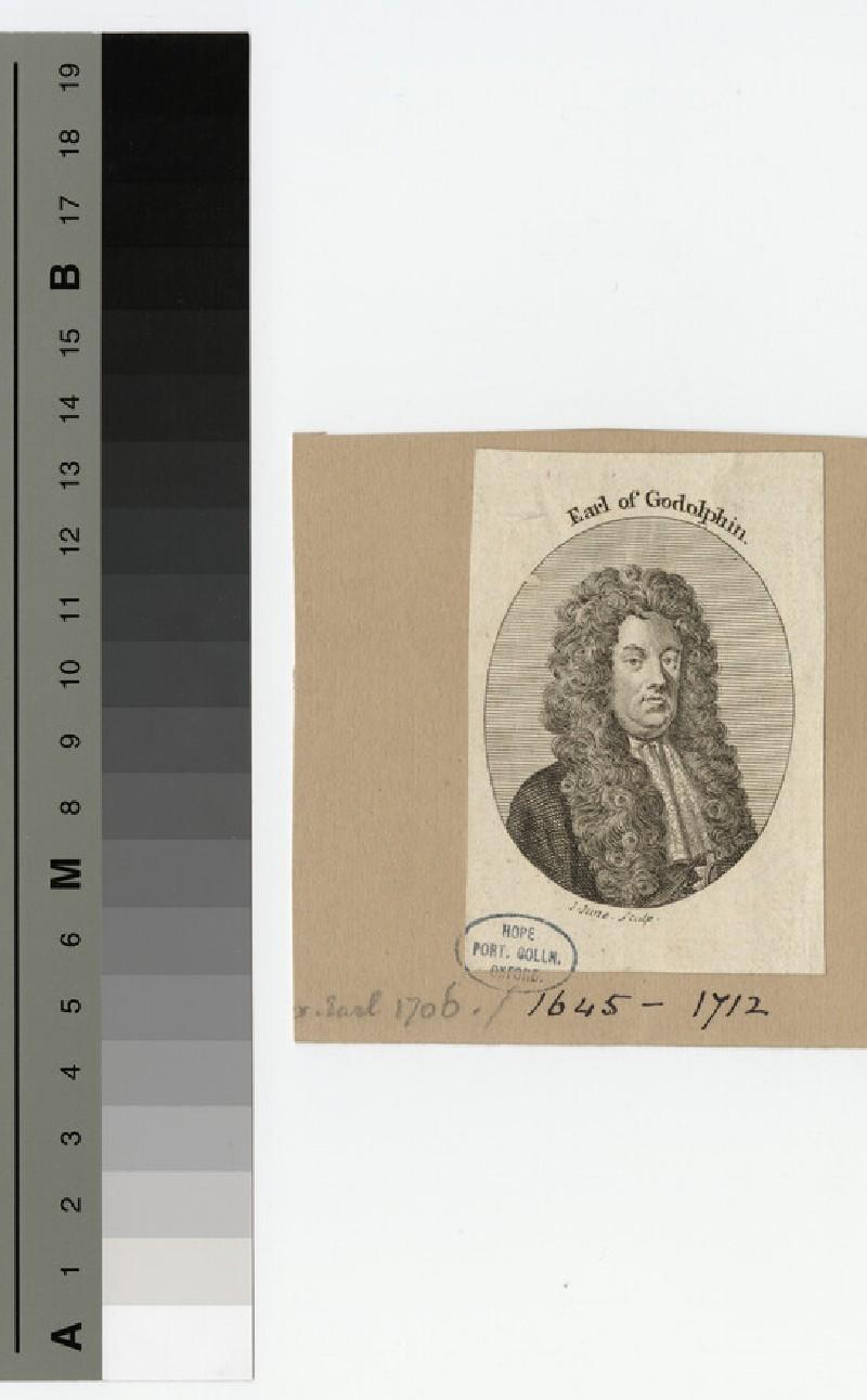 Portrait of Earl Godolphin