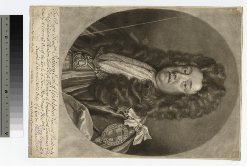 Portrait of Sidney, Earl of Godolphin (WAHP15892)