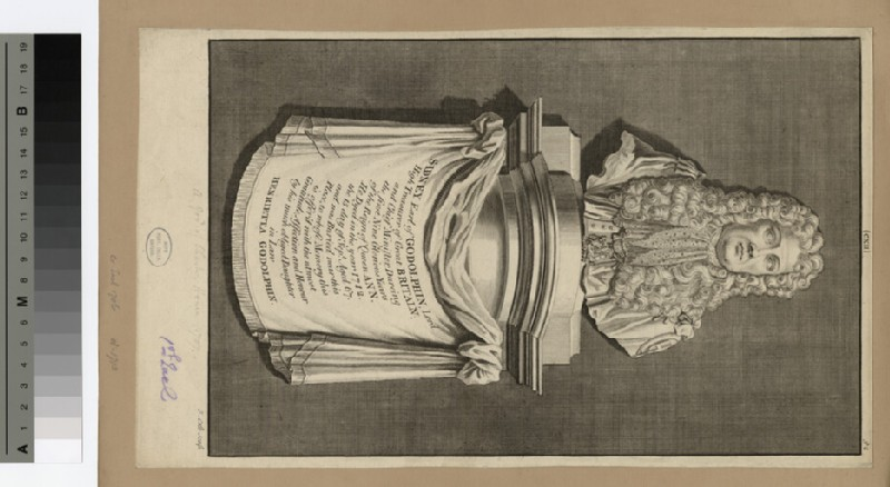 Funeral monument to Earl Godolphin (WAHP15893)