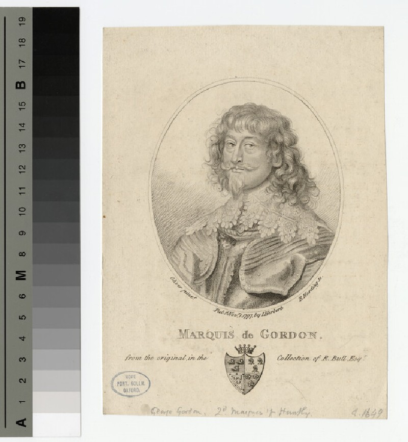 Portrait of Marquis of Gordon (WAHP15895)