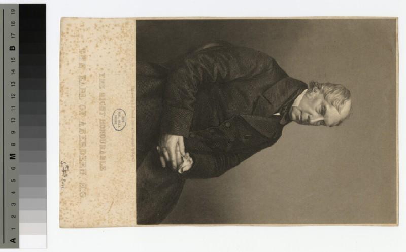 Portrait of George Hamilton-Gordon, 4th Earl of Aberdeen