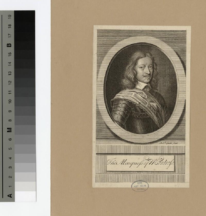 Portrait of Marquis Montrose (WAHP15935)