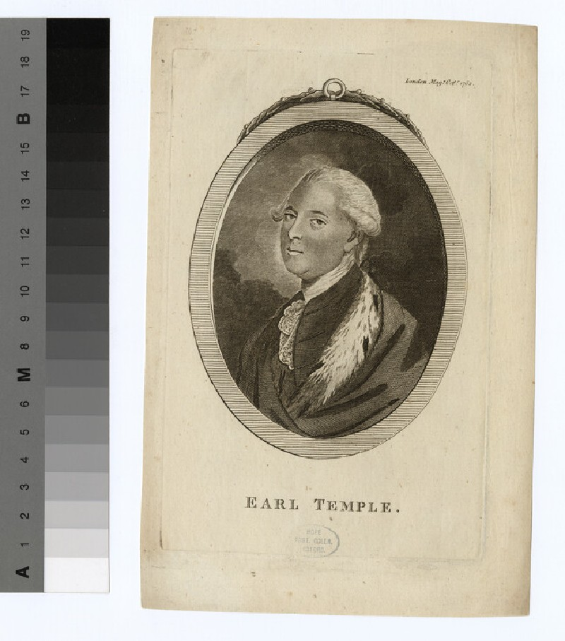 Portrait of Earl Temple (WAHP15970)