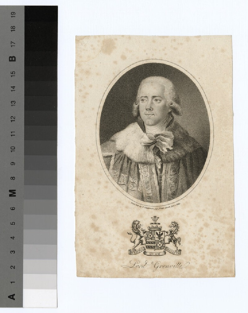 Portrait of Lord Grenville