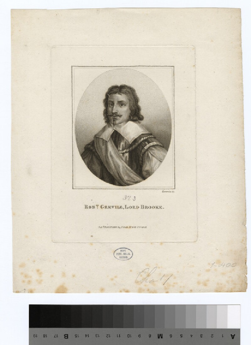 Portrait of Lord (Greville) Brooke