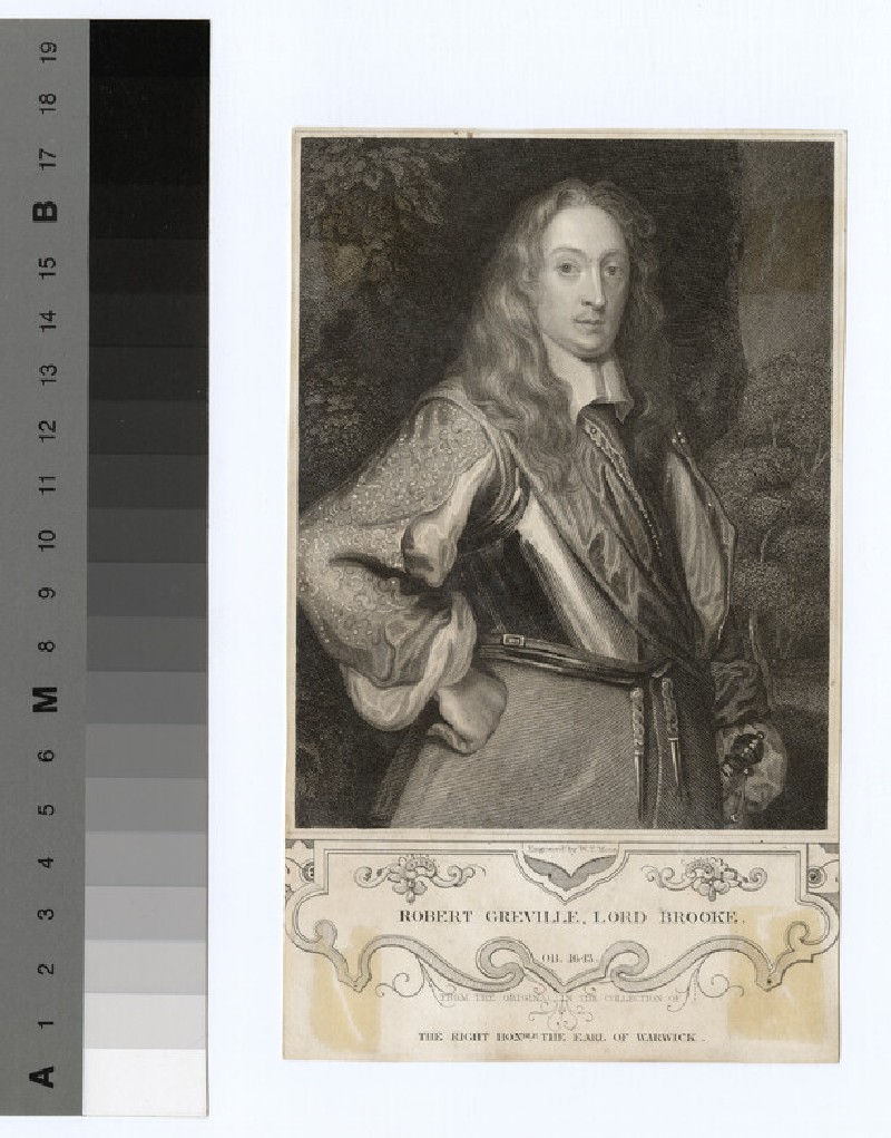Portrait of Lord Brooke